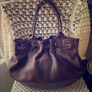 💎TOD's Leather Hobo Shoulder Bag 💼